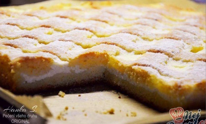 Photo of Mřížkový výborný tvarohový koláč