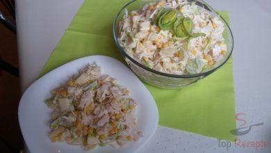 Photo of Celerový salát s ananasem a pórkem