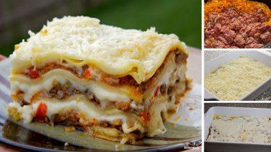 Photo of Vynikající lasagne – fotopostup krok za krokem