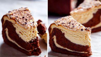 Photo of Čokoládový dort s tvarohovým krémem