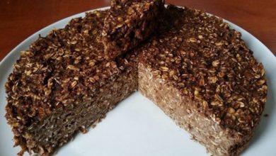 Photo of FITNESS dort s ovesnými vločkami bez cukru a mouky